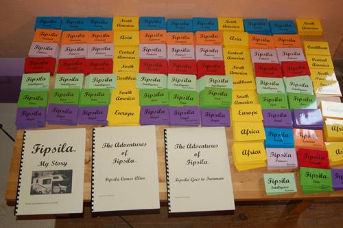 Fipsila Board game and books