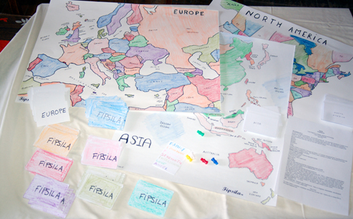 Prototype of Fipsila Board Game