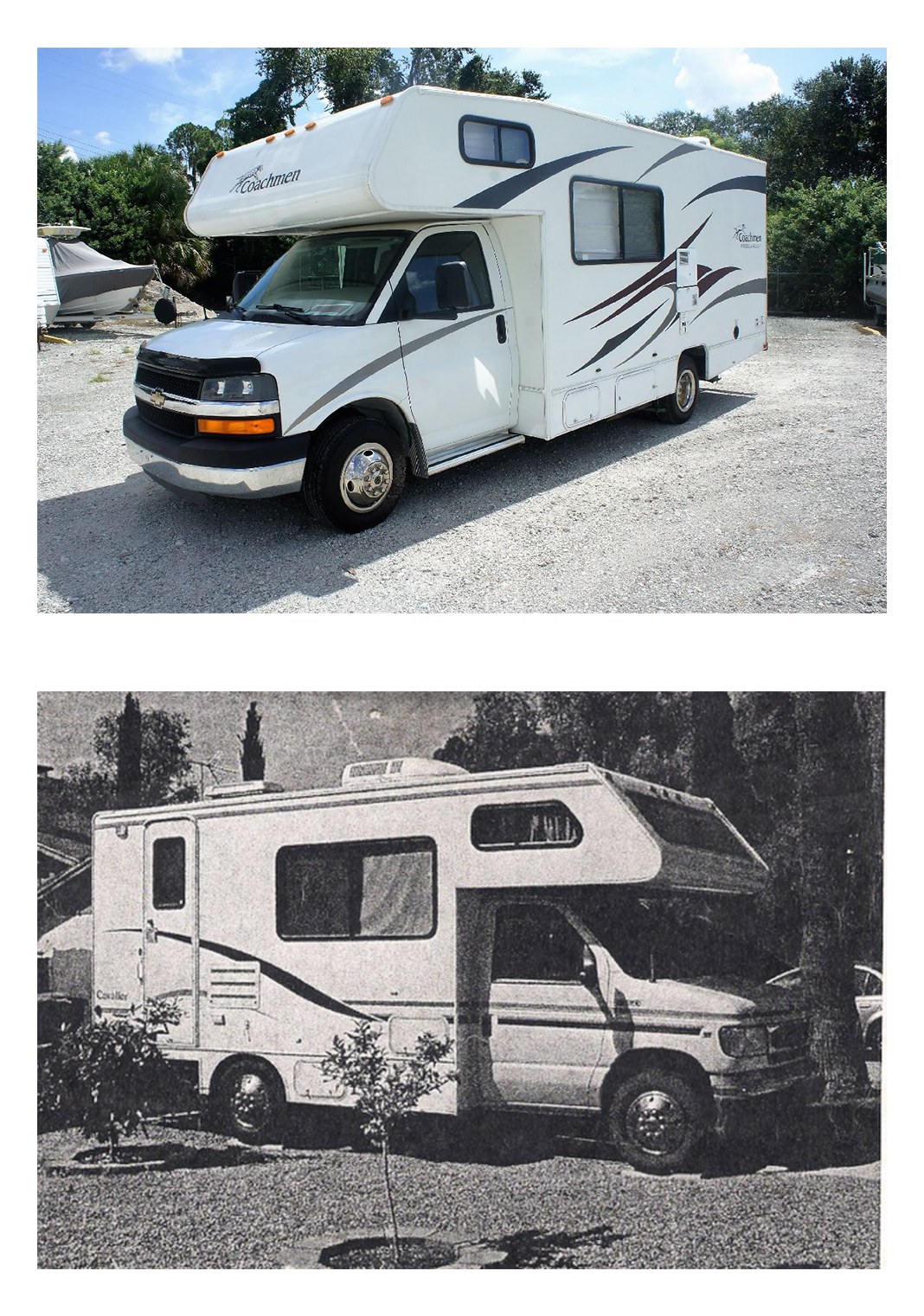 Fipsila old and new RV